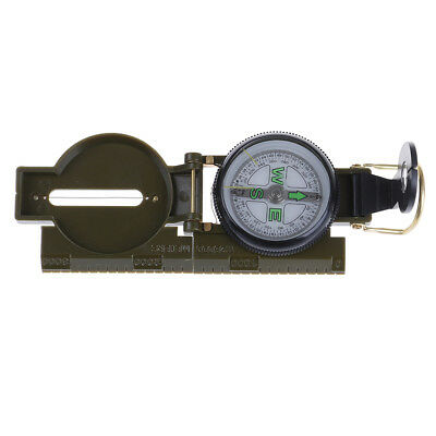 Outdoor Camping Hiking Army Style Survival Marching Military Lensatic Compass SP