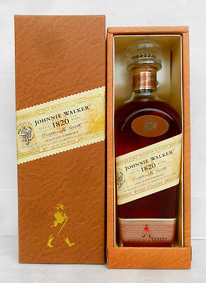 Johnnie Walker 1820 Special Blend Scotch Whisky 700ml Complete With Coffin Box!