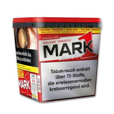 Mark Adams No.1 Volumentabak XXXXL BOX 400g Eimer