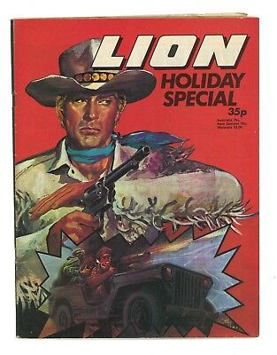 Lion Holiday Special 1977 Comic