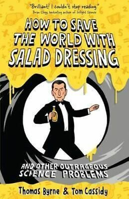 NEW How to Save the World with Salad... By Thomas Byrne Paperback Free Shipping