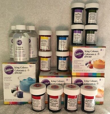 Wilton Cake Decorating Supplies Assorted Large Lot. Brand New & Sealed.