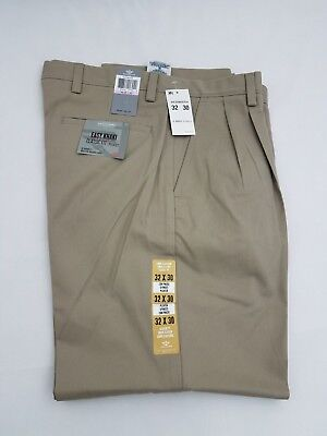 NWT MENS DOCKERS D3 CLASSIC FIT EASY KHAKI PLEATED FRONT $50 46298-0004 KHAKI