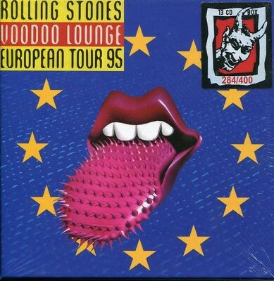 The Rolling Stones ‎– Voodoo Lounge European Tour 95 13 CD Limited Box