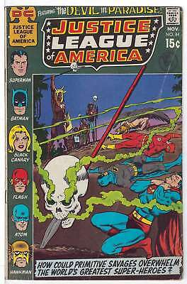 Justice League of America (Vol 1) #  84 Very Good (VG)  RS003 DC Comics SILV AGE
