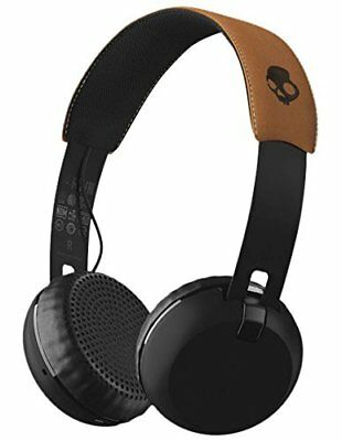 Skullcandy Grind Bluetooth Wireless On-Ear Headphones with Built-In Mic and R...