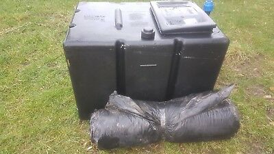 Polytank Black Plastic Cold Water Tank 27 Gallon