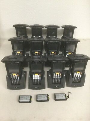 12X Motorola MC319ZUS Bluetooth Mobile Computer and RFID Reader MC319Z-GL4H24E0W