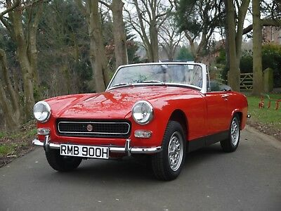 1970 MG Midget MkIII - Heritage Shelled Stunner! 1275, Convertible Classic Car