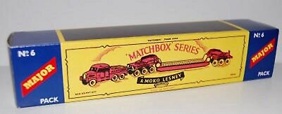 Matchbox Lesney M6 PICKFORDS 200 TON TRANSPORTER  Repro style B  Box