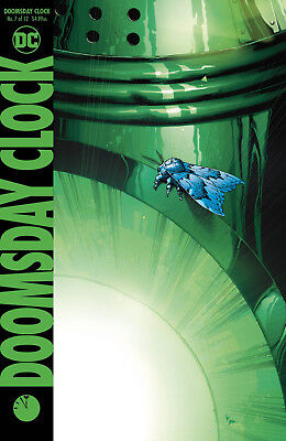 Doomsday Clock #7 Dc 2018 Standard Cover Stock Image