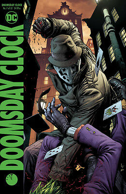 Doomsday Clock #7 Dc 2018 Frank Variant Cover Stock Image