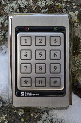 ESSEX KTP-163-SN   Access Control - Keypad Readers, BRAND NEW