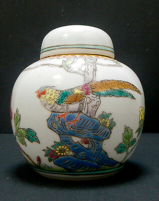Ginger Jar – Ginger Jar with Lid – Chinese Ginger Jar – Ceramic Ginger Jar
