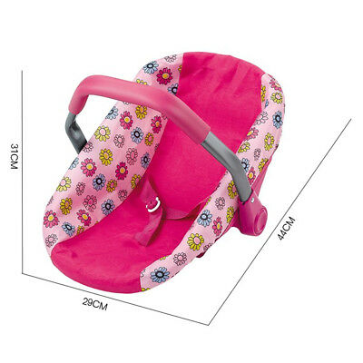 Reborn Doll Toys Doll Car Seat Infant Seat Adjustable Carrier Baby Carrier