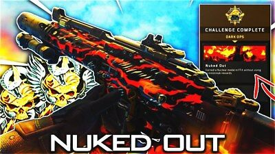 Call of Duty Black Ops 4 (XB1/PS4) Nuked Out Calling Card