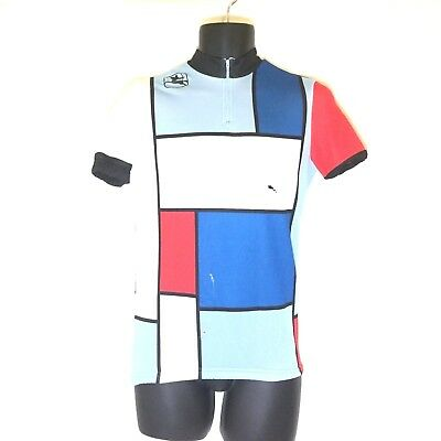 VINTAGE GIORDANA  FIT For Fashion  L S Yellow Polyester Cycling ... f793c550a