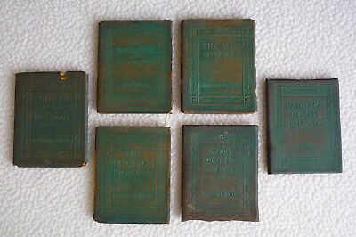 Little Leather Library - Redcroft Edition - Lot of 6 Books - Free Shipping