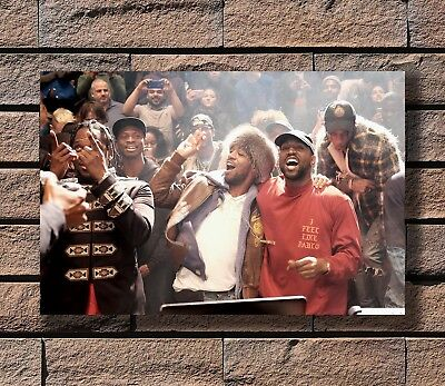 Kanye West The Life Of Pablo Rap HipHop Super Star Poster Fabric 30 24x36 E-325