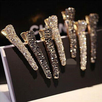 Fashion Exquisite Women Girls Pearl Crystal Hairpins Wedding Party Gifts Alloy