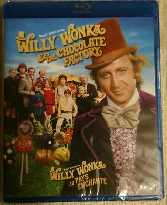 Willy Wonka and the Chocolate Factory (Blu-ray Disc, 2011, Canadian) New