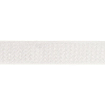 """Sew-On - Hook & Loop Tape, Size: 2"""" - White, 50 Yard roll"""