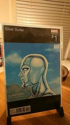 Silver Surfer Vol. 8 2016 #1B hip hop variant