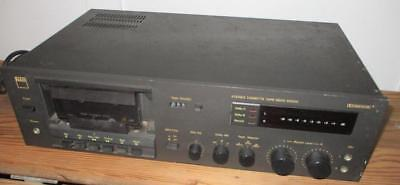 Vintage 1981 NAD 6050C Stereo Cassette Tape Deck Player Recorder Parts or Repair