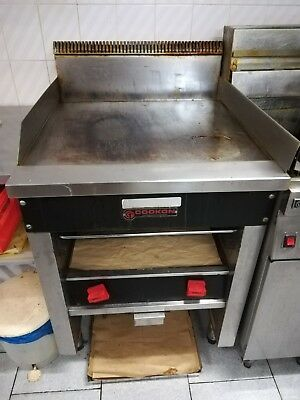 Cookon Freestanding Gas Griddle Toaster