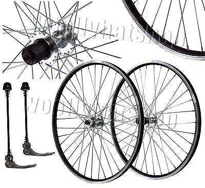 Conquer S-300 Fixed Gear 700c Wheelset DRILLING Front//20 Rear//28