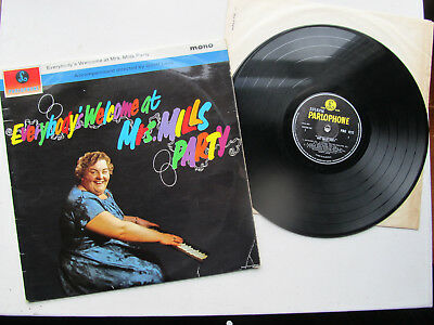 """Everybody's Welcome at  Mrs Mills Party 12""""Lp  Parlophone PMC 1212 Mono UK 1963"""
