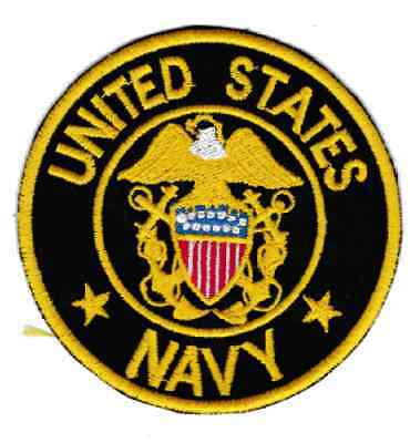 patch UNITED STATES NAVY usn marines diameter 8 cm patch embroidery REPLICA -703