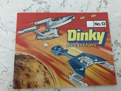 Katalog/ Catalogue Dinky Toys No 13- 1977 -deutsche Version-Sammlerqualität
