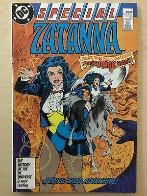 DC Comic Book - Special ZATANNA #1 FIRST ISSUE Justice League - 1987 - VF