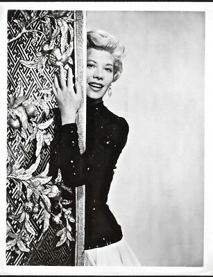Singing and Television Star Dinah Shore Vintage 1950s NBC Glamour Photograph NR