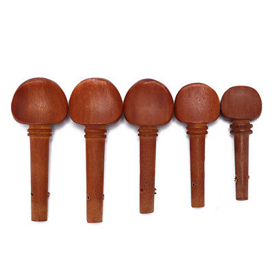 1/8 1/4 1/2 3/4 4/4 jujube wood violin fiddle tuning pegs end pins replacements