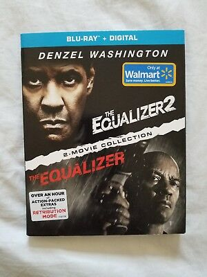 The equalizer 2 movie collection Blu-Ray plus digital Walmart exclusive