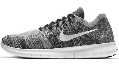 832d03960e5c Nike Free RN Flyknit 2017 Men s Running Shoes 880843003 Black   White OREO  11.5