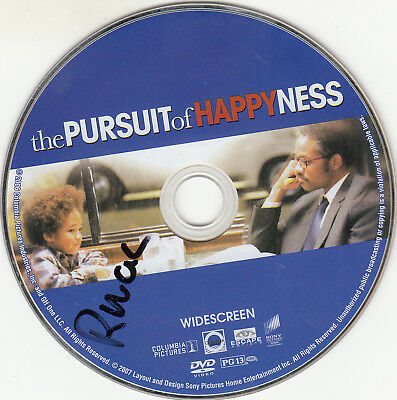 The Pursuit of Happyness (DVD, 2007, Widescreen) DISC ONLY