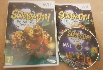 Scooby Doo And The Spooky Swamp Wii Videogames 8 98 Picclick Uk