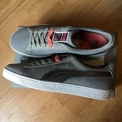 b66de2e3bfc63b PUMA SUEDE X Staple size 13. 361617-03 Gray Pink NYC Pigeon Limited .