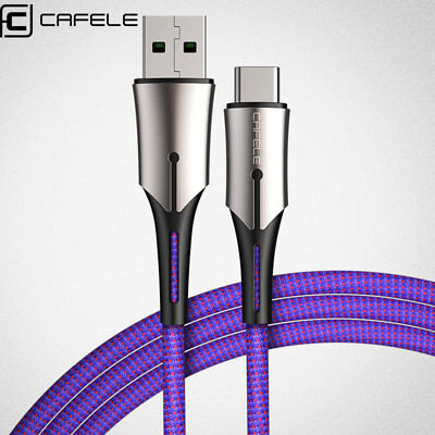 Heavy Duty Braided Fast Charge 5A USB C Type C Data Phone Charger Cable kabel