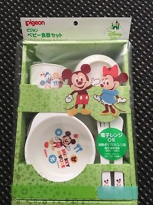 New Disney Meal Set 5pcs From Pigeon