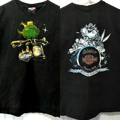 8b3b9c90168 Harley Davidson Marvin the Martian Looney Tunes Youth L Bugs Bunny Taz  Florida