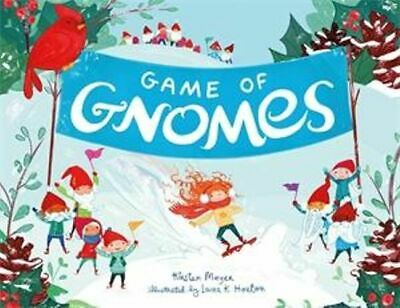 NEW Game of Gnomes By Kirsten Mayer Hardcover Free Shipping