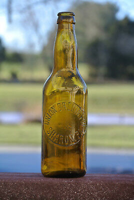 Sharon Brewing Company Beer Bottle - Sharon, PA / Amber Brown Color 1901 to 1920