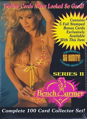 Complete 1994 Bench Warmer Series 2 Factory Sealed 100-Card Set with Bonus Cards