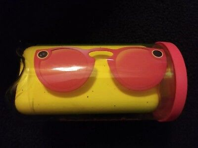 Snapchat Spectacles - Coral. 1st gen. New factory sealed. Original packaging.