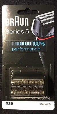 New Braun Series 5 Replacement Cassette 52B **MADE IN GERMANY FACTORY SEALED**
