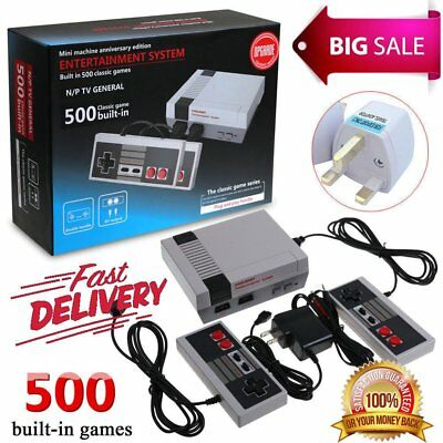 HDMI / AV Mini Retro TV Game Console 8Bit Classic Built-in 620 Games ControllWR